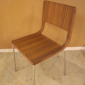 Stuhl Zebrano