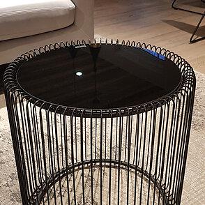 Beistelltisch Wire schwarz