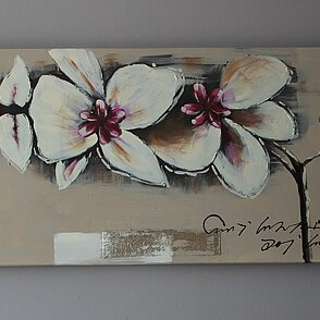 Bild rosa Orchidee Art. X069